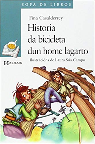Historia da bicicleta dun home lagarto
